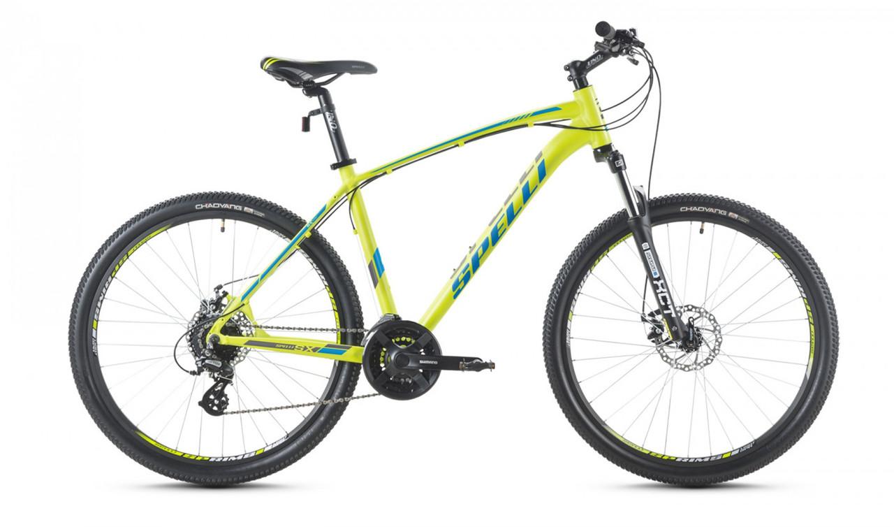 """Велосипед SPELLI 26"""" SX-3700 Disk 2016 рама 19"""" зелений/матовий SP000097"""