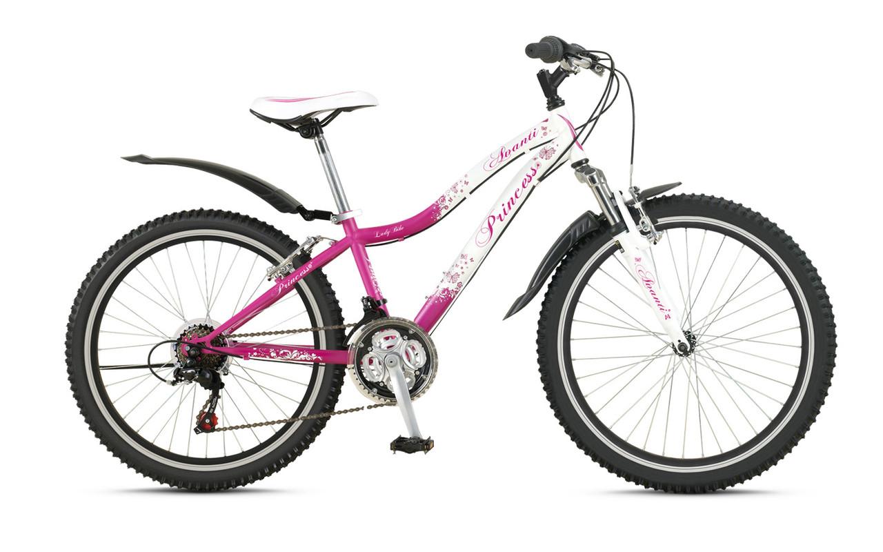 """Велосипед AVANTI 24"""" PRINCESS 2016 рама13"""" білий/рожевий AV000076"""