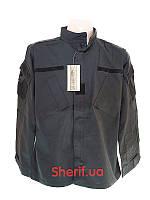 Китель черный полицейский ACU MIL-TEC Рип-Стоп Black  11925002