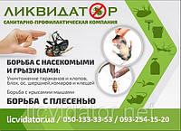 Борьба с прусаками в общежитии Харьков