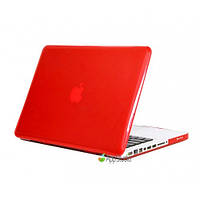Пластиковый чехол-накладка для Apple MacBook Pro retina13.3 Crystal Red
