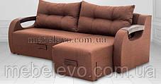 Угловой диван Релакс 2280х1690мм 160х200 Виркони / Люксор, фото 2
