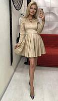 Платье женское мини, декольте шнуровка спереди, ткань - эко замша. Разные цвета, размеры. Розница, опт.