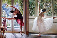 Набор алмазной мозаики Утонченные балерины 55 х 40 см (арт. FS499)