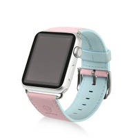 Ремешок Baseus Colorful watchband For Apple watch 38mm Pink-blue