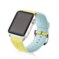 Ремешок Baseus Colorful watchband For Apple watch 38mm Yellow-blue