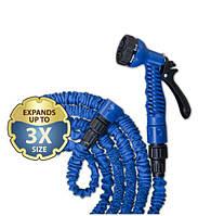 Шланг, растягивающийся TRICK HOSE синий 5 - 15 м