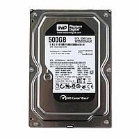 Жесткий диск 3.5 WD Caviar Black 500GB SATA III (WD5003AZEX)