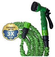 Шланг, растягивающийся TRICK HOSE зеленый 5 - 15 м