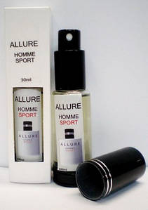 Мужская туалетная вода Chanel Allure Homme Sport (Шанель Аллюр Хом Спорт), 30 мл