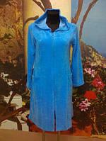 Жіночий халат на замок для дому із капюшоном Calipso 172 S