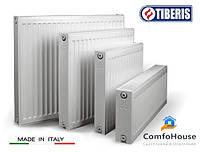 Стальной радиатор с нижним подключением TIBERIS ТИП 22 H_400 L=2700