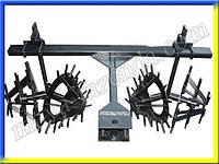 Культиватор двухрядный для мини трактора