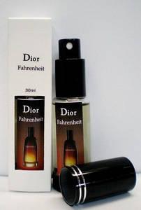Мужская туалетная вода Christian Dior Fahrenheit (Кристиан Диор Фаренгейт), 30 мл