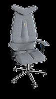 Кресло Jet (Джет) ткань Азур серебрянный (ТМ Kulik System)