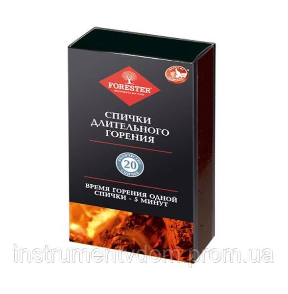 Спички длительного горения FORESTER BC-782 (20 шт)