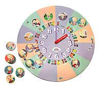 Распорядок дня часы-планнер для девочек