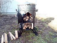 "Печь для казана ""Бухара-2"" (максимальная комплектация)"