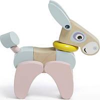 Ослик-акробат игрушка деревянная ТМ CUBIKA