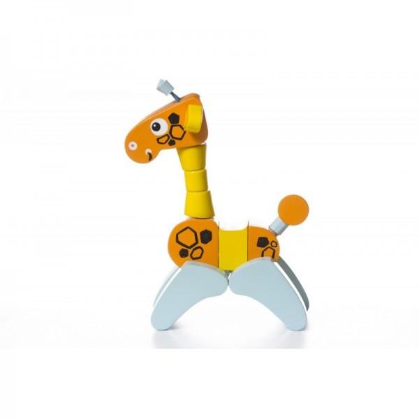 Жираф-акробат игрушка деревянная ТМ CUBIKA