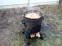 "Печь для казана ""Бухара-2"" (максимальная комплектация) , фото 2"