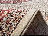 Иранский ковер в красном тоне с медальоном, фото 3
