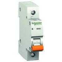 Автоматический выключатель (автомат) ВА63 1П 10A C Schneider Electric Шнайдер Домовой