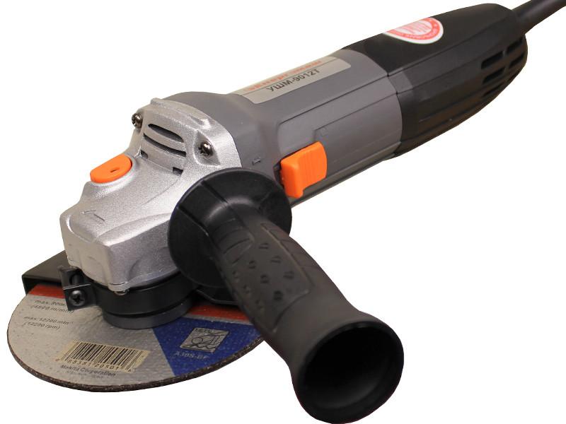 Болгарка (УШМ) Энергомаш 125 мм 1000 Вт УШМ-9012Т
