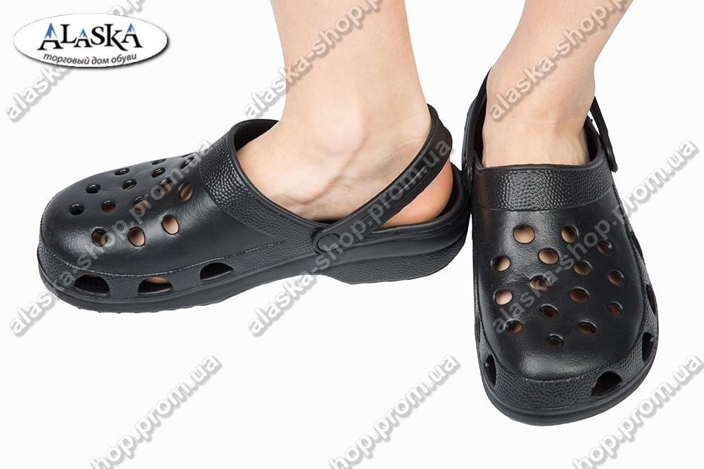 Подростковые сабо черные (Код: Сабо 2)