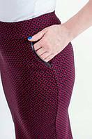 Стильная юбка прямая.р 42-52, фото 1