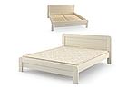 Дерев'яне ліжко Тоскана 160х200 сосна Mebigrand, фото 2