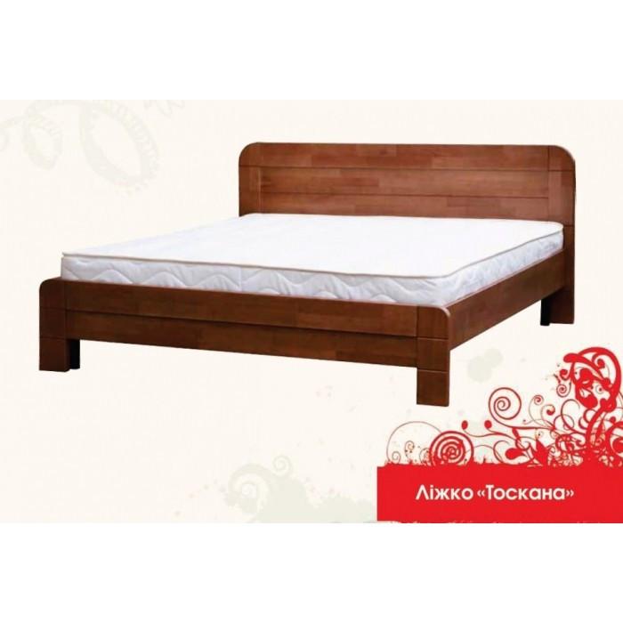 Дерев'яне ліжко Тоскана 160х200 сосна Mebigrand