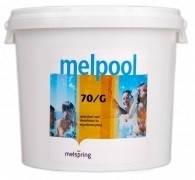 Гипохлорид кальция, дезинфекция воды в бассейне Melpool 70/G, 5кг, 45кг