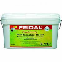 Шпаклевка Feidal Ambiente Wandspachtel Relief универсальная 16 кг