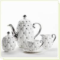 Чайный набор на 6 персон Maestro MR-10046-17S 17 предметов
