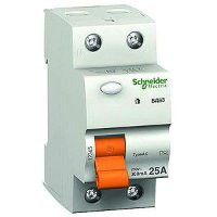 УЗО 25A 2П 30мA Дифференциальный выключатель нагрузки ВД63 Schneider Electric Шнайдер Домовой