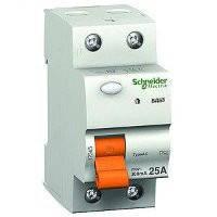 Дифференциальный выключатель нагрузки (УЗО) ВД63 2П 25A 300мA Schneider Electric Шнайдер Домовой