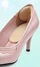 Самоклеющийся вкладыш в обувь c подпяточником (замша)