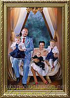 Портрет на заказ Киев, портрет маслом на заказ в Киеве.