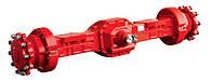 Буксирные оси, механические, полуавтоматические, автоматические, гидравлические трансмиссии Carraro