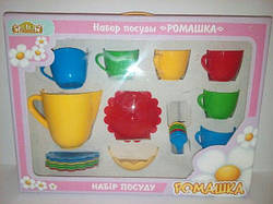 Набор посуды Ромашка