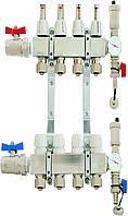 Коллектор premium 3 - 9 секции из нержавеющей стали