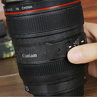 Термокружка объектив Canon 24-105M с мешалкой