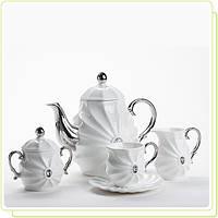 Чайный набор на 6 персон Maestro MR-10047-17S 17 предметов
