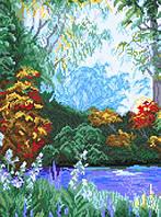 Схема для вышивки на канве В лесу РКан 3037