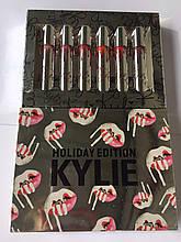 Набор матовых жидких помад Kylie Holiday Edition 6 цветов