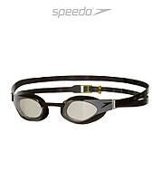Зеркальные очки для плавания премиум класса Speedo Fastskin 3 Elite (Black)