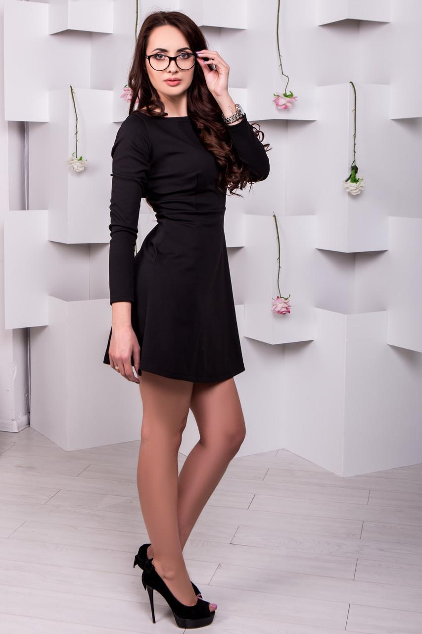 Маленькое черное платье - ТМ Dives производитель стильной женской одежды в  Харькове eaf865461079c