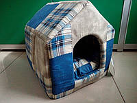 "Спальное место, домик для собак и кошек ""Будка 2"" 37х41х37 см"