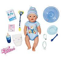 Интерактивный пупс 43 см Мальчик Baby Born Zapf Creation 822012